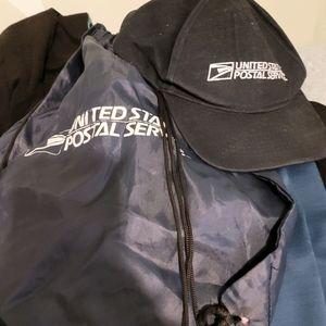 USPS hat & bag set